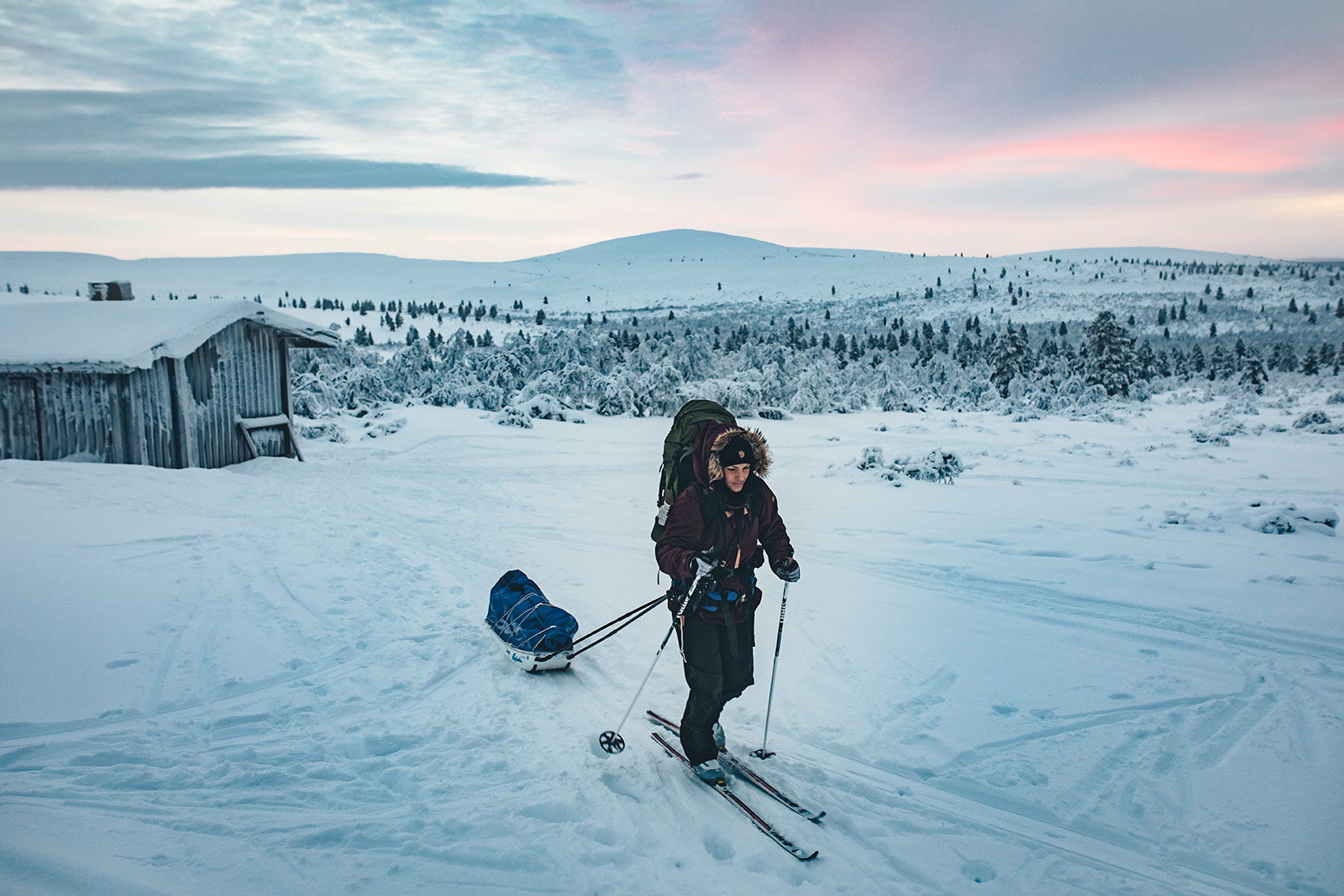 Lapland, skiing [Photo: Daniel Ernst]