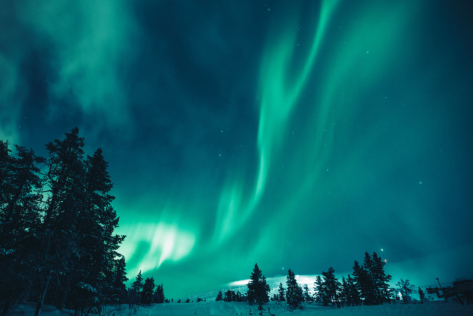 Northern lights [Photo: Hannes Becker]
